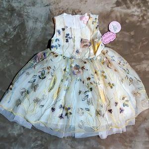 Popatu Little Girls Multi Tulle Dress